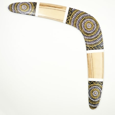 Boomerang Silver Sun wooden boomerangs for sale