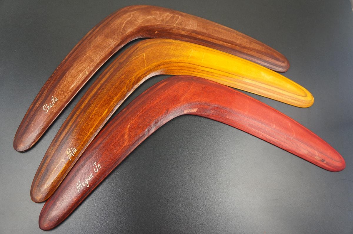 Personalized Boomerang