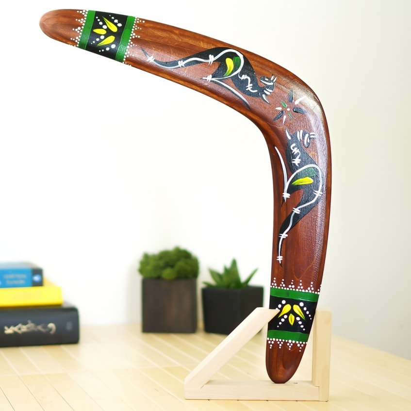 Boomerang Kangaroos ancient hunting type boomerangs c