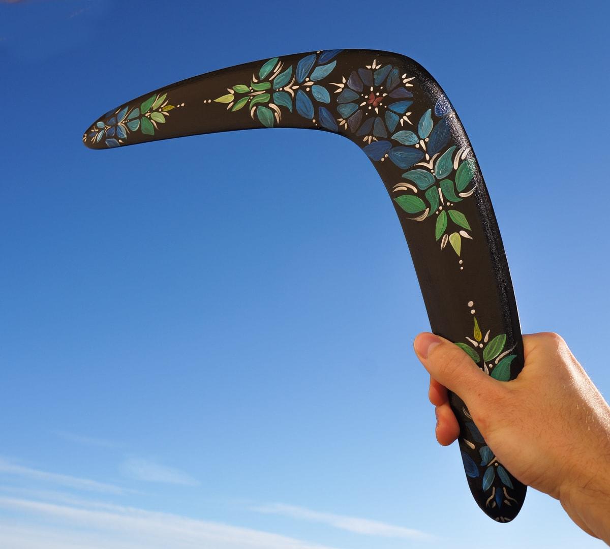 Boomerang  U0026quot Flower U0026quot