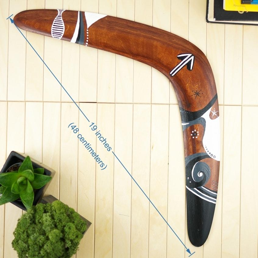 Boomerang kangaroo foot lagest boomerang big size boomerangs