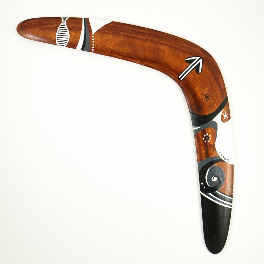 Boomerang kangaroo foot traditional shaped returning boomerang