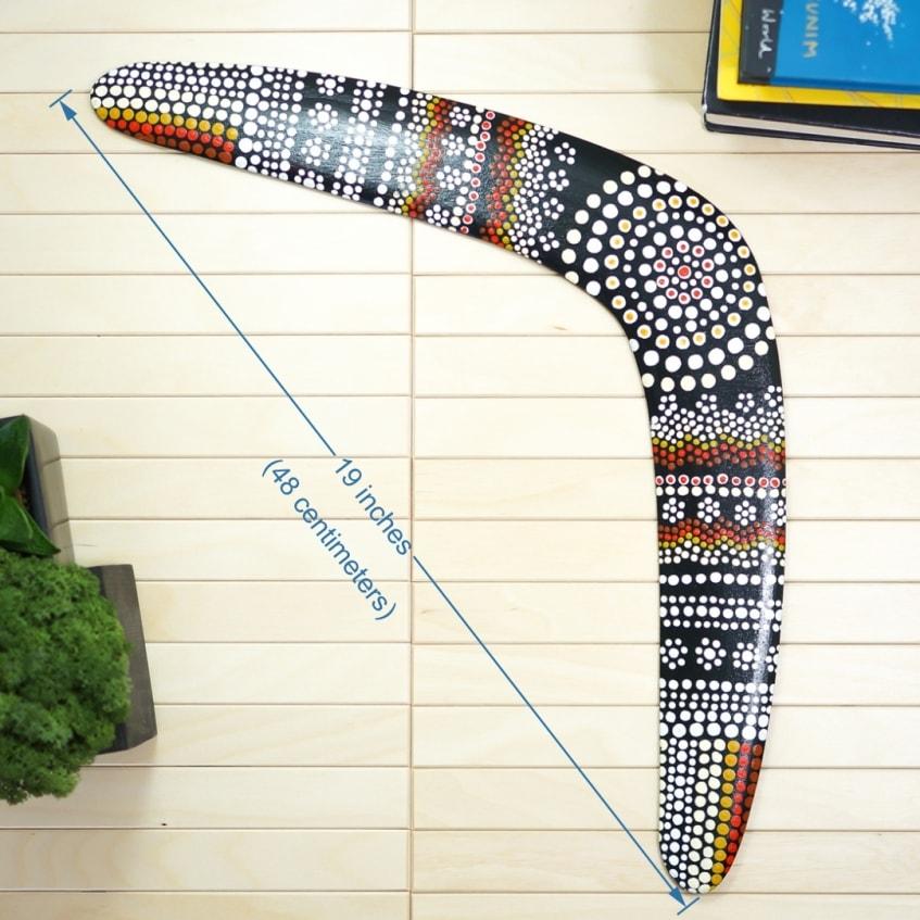 Boomerang Aboriginal 2 Austalia type a